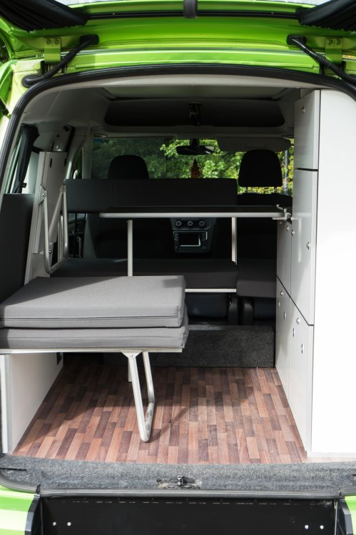 Vw Caddy Maxi Camper Van Key Camper Conversions