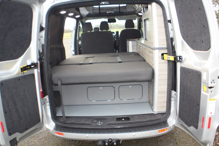 ford transit custom key camper conversions. Black Bedroom Furniture Sets. Home Design Ideas
