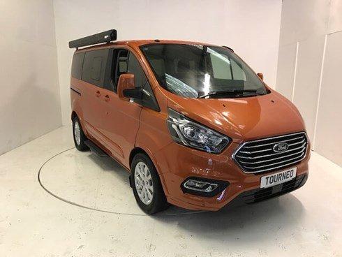Ford Tourneo Custom 2 0tdci Titanium Auto Orange Glow